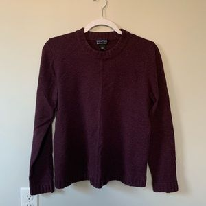 Patagonia Purple Knit Sweater